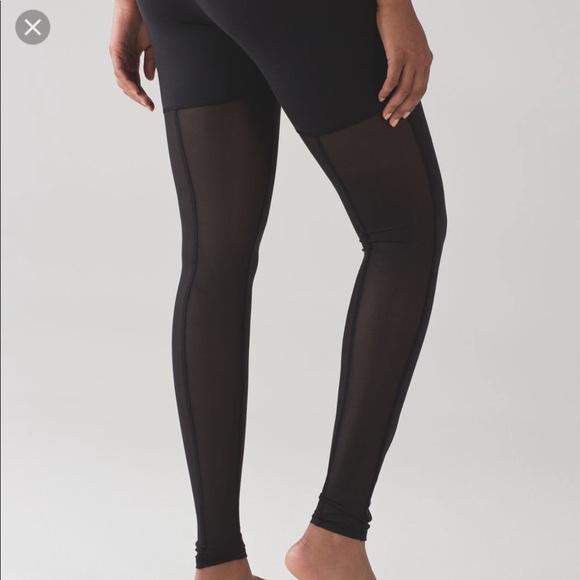 1a5d9b123d lululemon athletica Pants | Nwot Lulu Lemon Mesh Back Leggings ...
